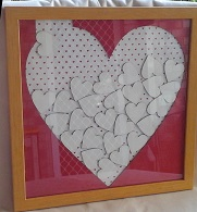 12 x 12 Signature frame matt and hearts  x 60 complete These are